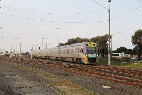 VLocity VL38 on the down at North Geelong