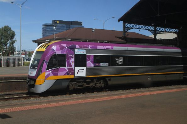 VLocity VL63 on a down Waurn Ponds service at Geelong station