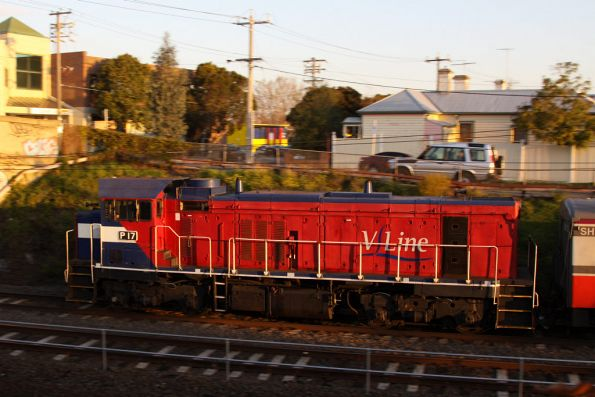 P17 trails a push-pull outside Footscray
