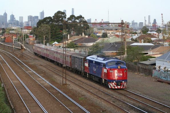 A70 with PH power van bound for Bacchus Marsh at Middle Footscray
