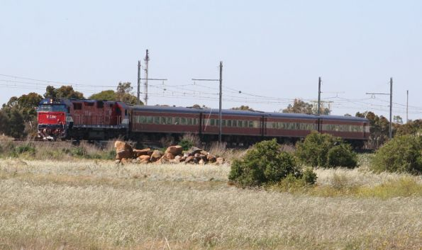 N class on a down Geelong service at Laverton