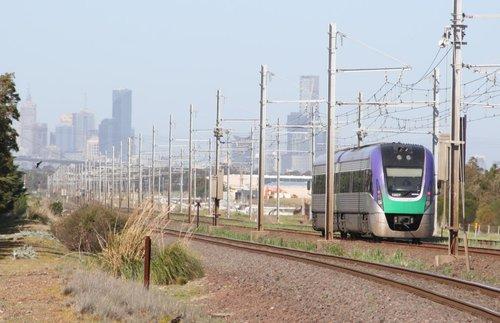 VLocity VL07 Melbourne bound at Galvin