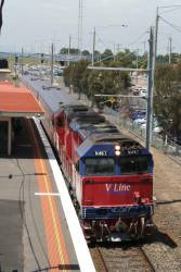 N467 runs through Laverton on the down