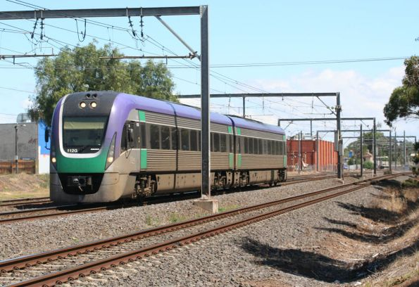 VLocity VL20 on the up at Werribee