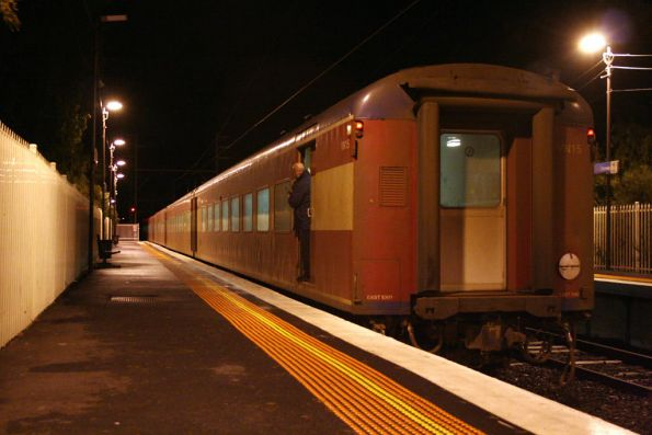 The down Albury pass stopped at Glenroy due to ANOTHER signal failure at Craigieburn