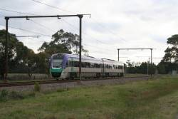 VLocity VL13 on an up Traralgon service at Beaconsfield