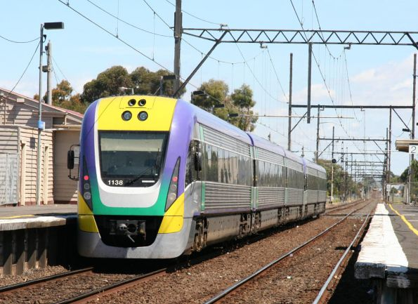 VLocity 3VL38 trails VL01 through Westall