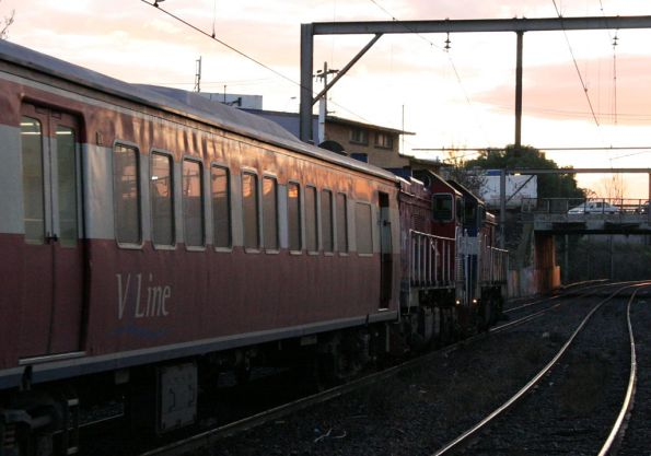P14 and P13 depart Footscray