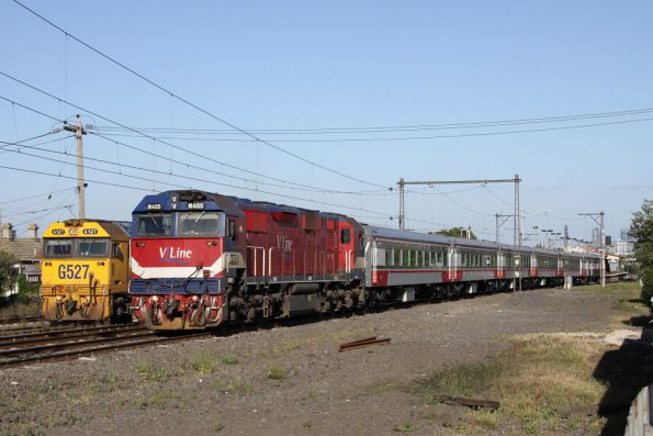 N455 'City of Swan Hill' heads to Swan Hill with newly formed carset SN16