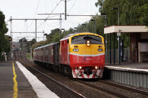A66 heads the down South Geelong at Seddon