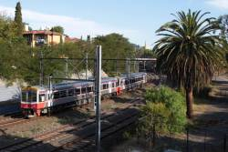 Pair of Sprinters on the up at South Yarra