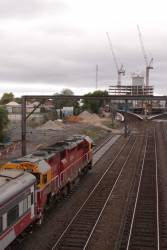 N455 leads the down Warrnambool into Footscray