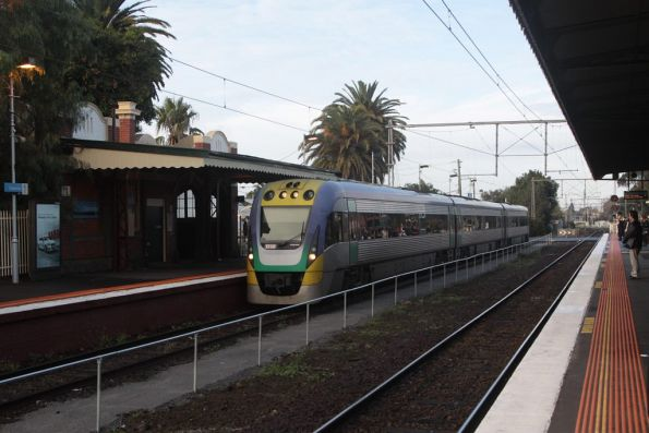 Having run an up Gippsland train, Essendon is the closest location to Southern Cross to change direction