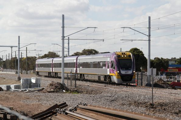 VLocity VL15 between Ginifer and St Albans with an up Bendigo service