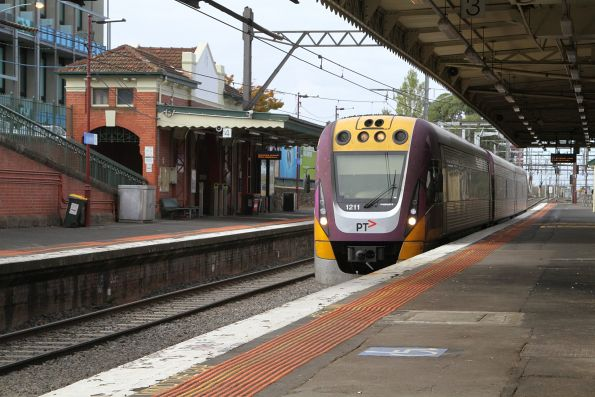 VLocity VL11 passes through Malvern station on an up Gippsland service