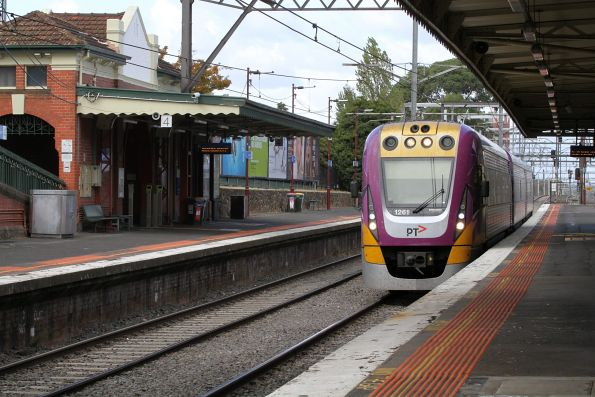 VLocity VL61 passes through Malvern station on an up Gippsland service