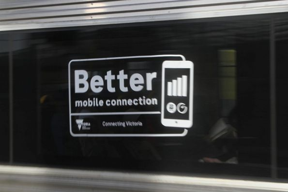 'Better mobile connection' decals on the side of VLocity VL52