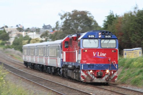Quick shot at North Geelong on the return