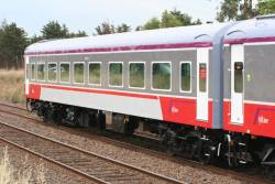 Carriage BZN273 in the new livery