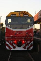New liveried N468 at South Geelong
