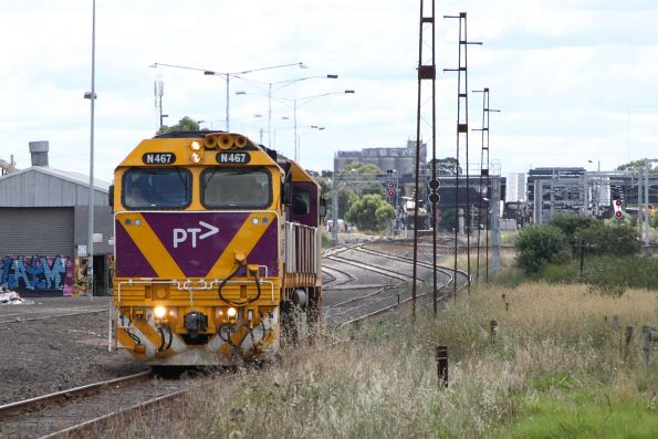 V/Line - Newport-Sunshine driver training
