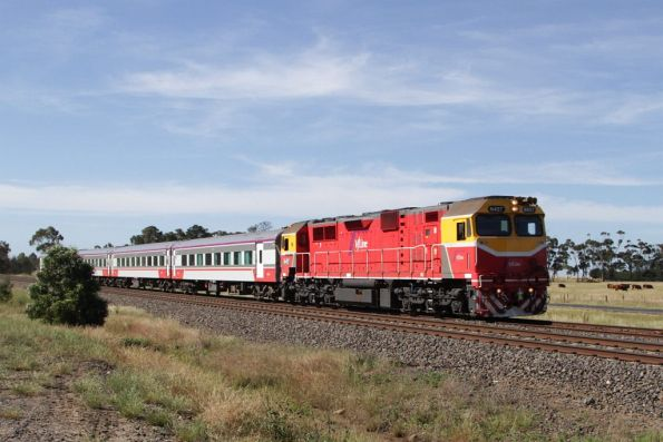V/Line in northern Victoria