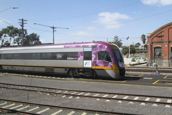 VLocity VL61 stabled at Bendigo
