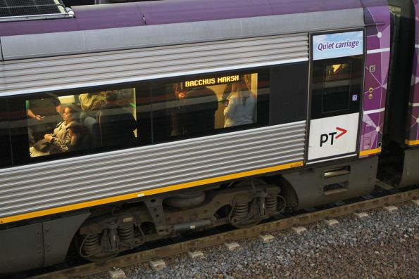 Down Bacchus Marsh service packed to the rafters in evening peak