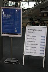 Notices of RRL related rail replacements at Southern Cross
