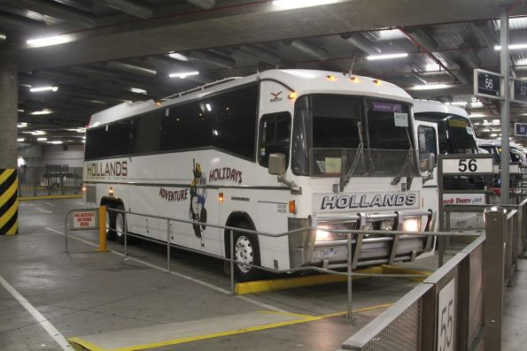 Hollands Adventure Holidays coach 1341AO at the Southern Cross coach terminal