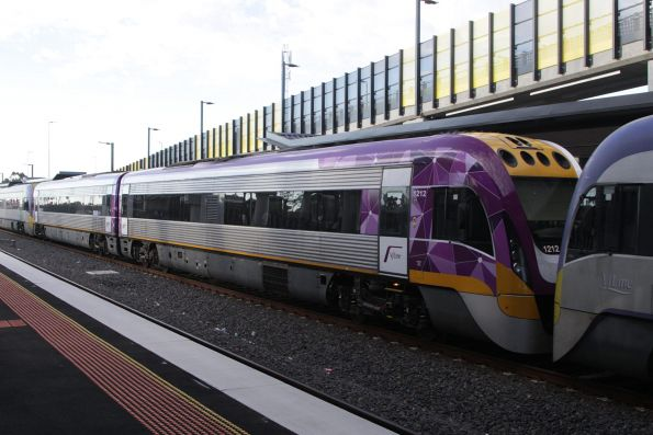 VLocity VL12 back in service after repairs, and in the new PTV livery
