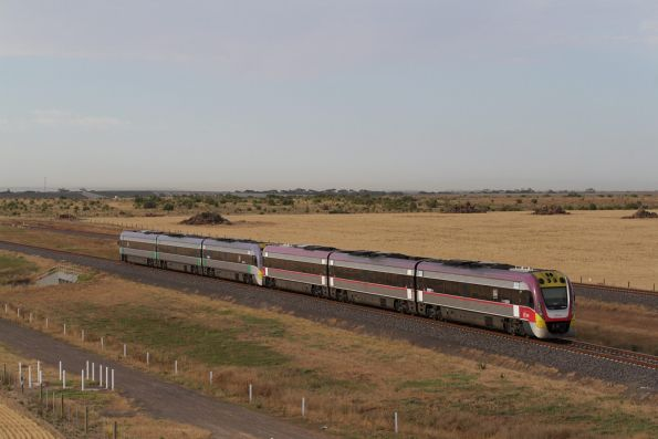 VLocity 3VL26 and 3VL47 on a down service at Wyndham Vale South