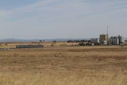 VLocity passes Riverbank Stockfeeds plant outside Wyndham Vale