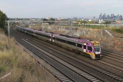 VLocity VL53 and classmate approach Footscray on the down