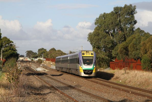 VLocity VL37 on the down at Ardeer