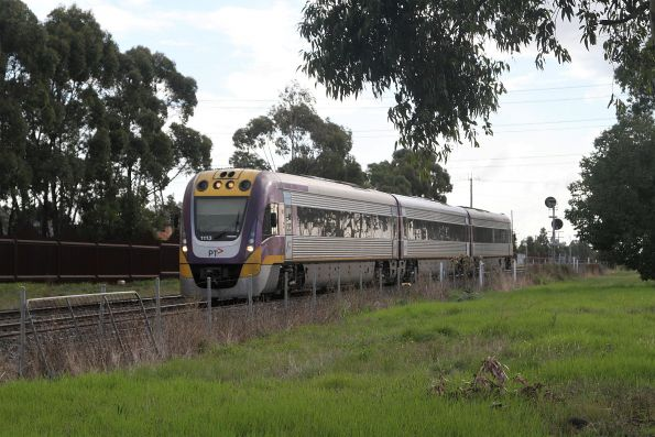 VLocity VL13 on the up at Ardeer