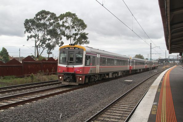 Sprinter 7004 and three classmates on the up at West Footscray