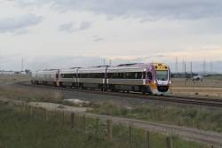 VLocity VL65 and classmate head for Tarneit at Deer Park Junction