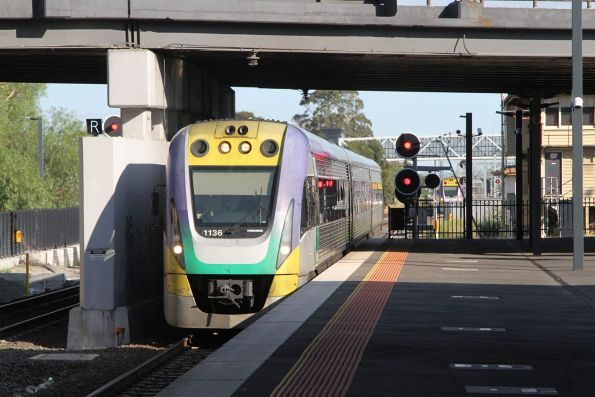 VLocity VL36 leads an up service into Sunshine