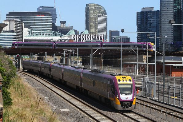 VLocity VL56 and classmate pass North Melbourne