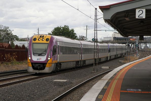 VLocity VL12 and classmate on the up at Middle Footscray