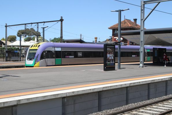 VLocity VL27 on the up at Footscray