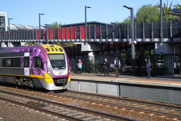 VLocity VL52 on the down at Footscray