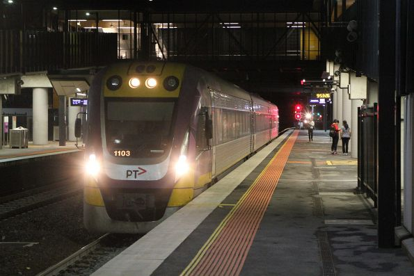 VLocity VL03 on an up Waurn Ponds service at Sunshine