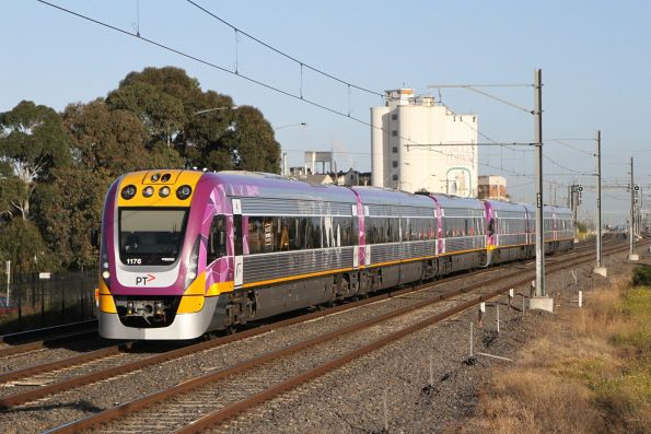 VLocity VL76 and classmate on the up at West Footscray
