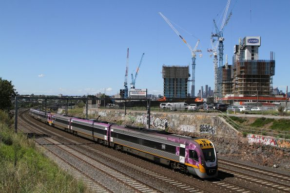 VLocity VL15 and classmate on the down at Footscray