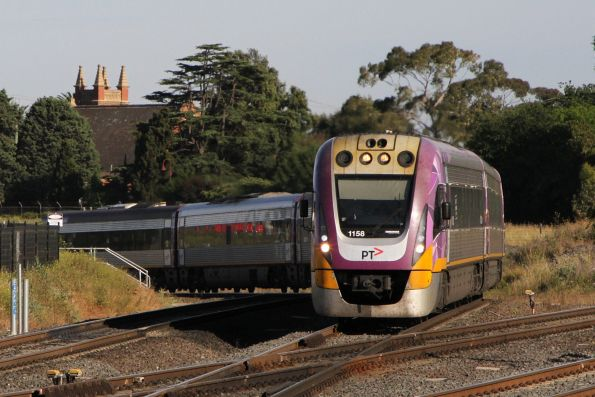 VLocity VL58 and VL02 at Sunshine on an up Wyndham Vale service