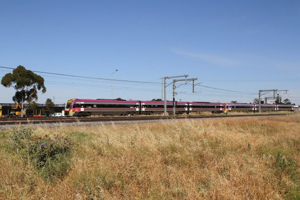 VLocity VL50 and VL53 on an up Wyndham Vale service at Sunshine