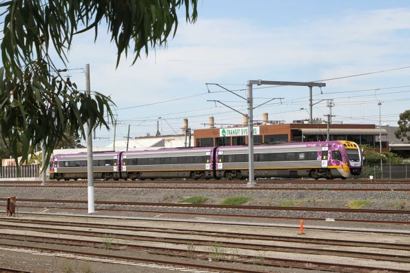 VLocity VL21 on the down through West Footscray