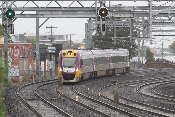 VLocity VL12 on the up at Middle Footscray